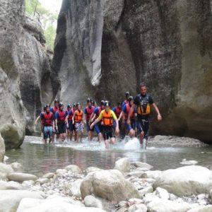 canyoning-in alanya