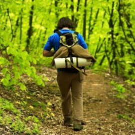 carian trail hiking