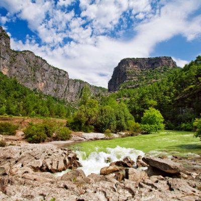 koprulu canyon hiking