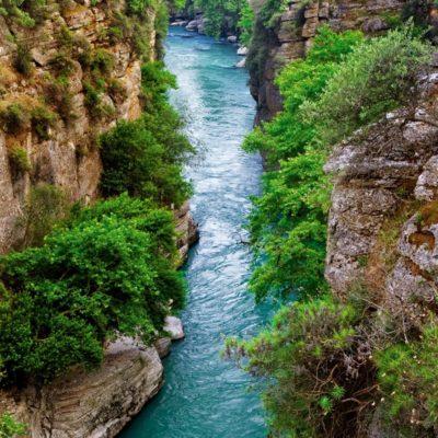 koprulu canyon trekking